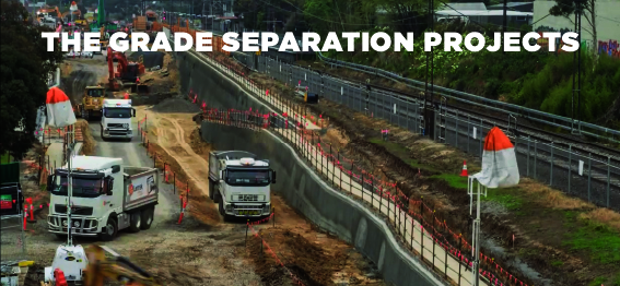 The Grade Seperation Projects Lantrak